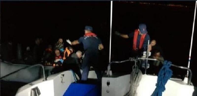 Didim açıklarında 67 kaçak göçmen yakalandı