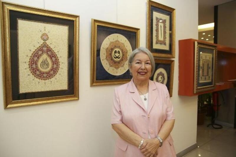 60 yaşında tezhip sanatıyla tanışıp 4 sergi açtı
