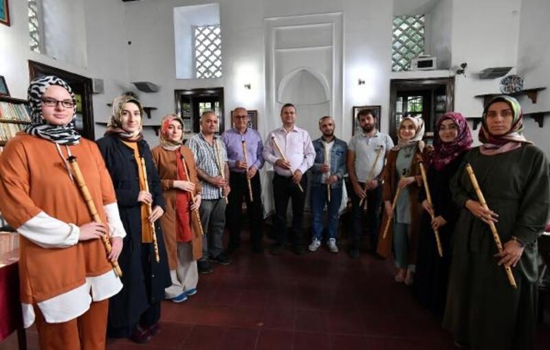 Bursa'da ney kursuna yoğun ilgi