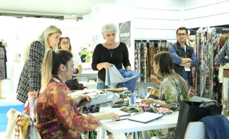 Bursa Textile Show Fuarı'na 40 ülkeden 500 yabancı alıcı geldi