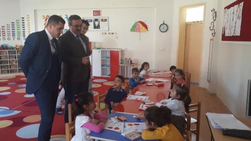 Kaymakam Meral'den anaokulu ziyareti