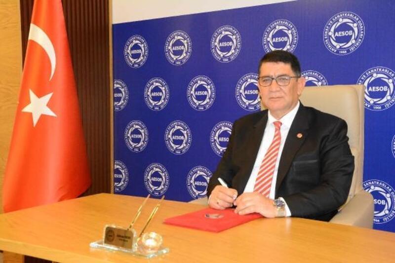 AESOB Başkanı Dere'nin Cumhuriyet Bayramı mesajı