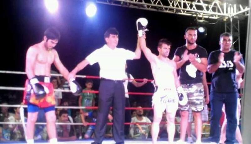 Muay Thai'de dünya şampiyonu itfaiye eri