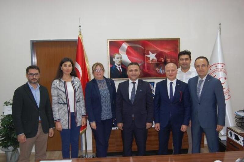 Türk Kızılay Bursa Şubesi'nden Hasan Yılmaz'a ziyaret