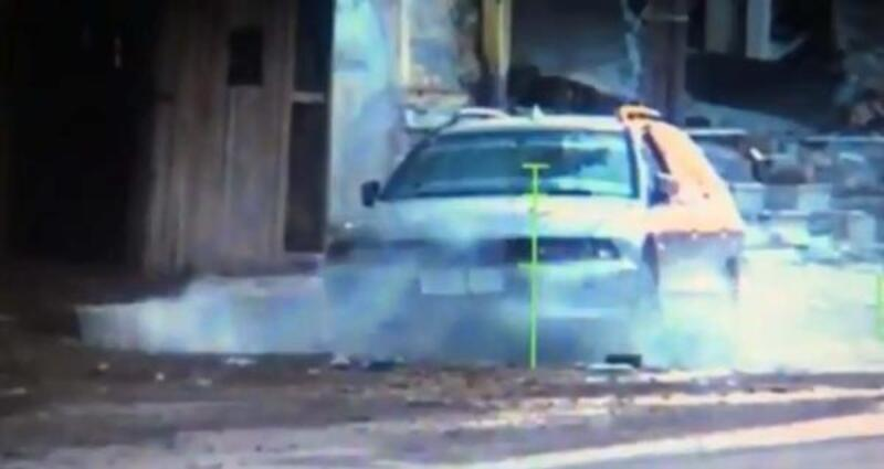 Tel Abyad'da bombayla tuzaklanan otomobil tahrip edildi