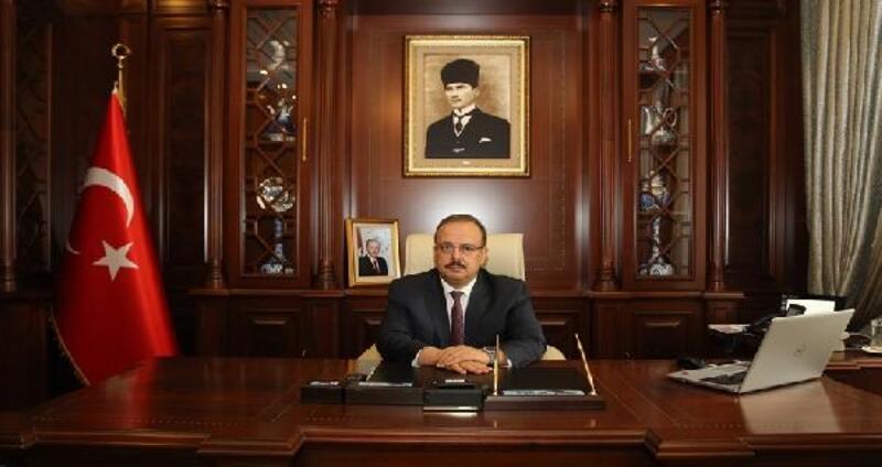Bursa Valisi Canbolat'tan 29 Ekim için kutlama mesajı