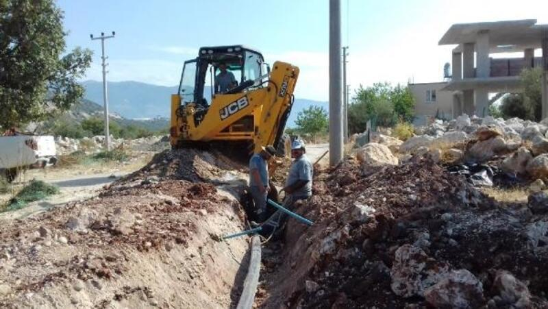 Demre Bozdağ'a yeni içme suyu şebekesi