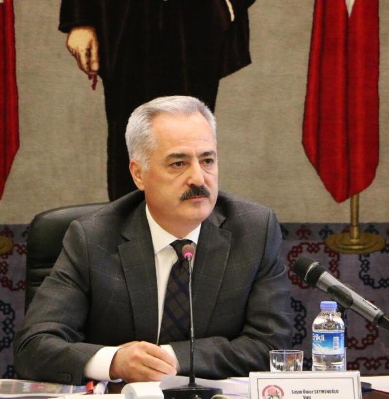 Vali Seymenoğlu'ndan Cumhuriyet Bayramı kutlaması