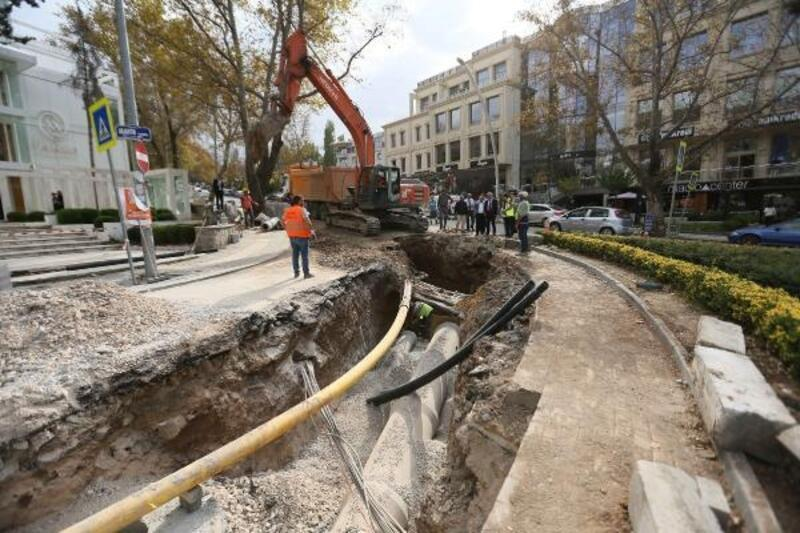 Başkentte 515 milyon 189 bin 709 liralık altyapı yatırımı gerçekleştirildi