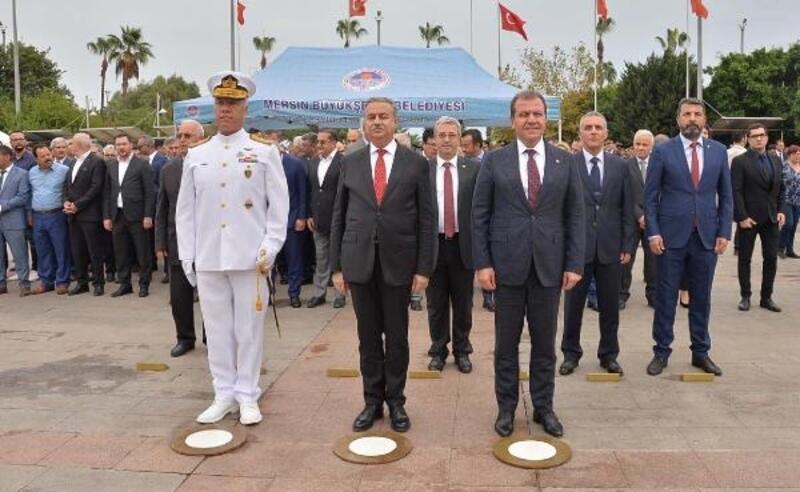 Mersin`de 29 Ekim kutlamaları başladı
