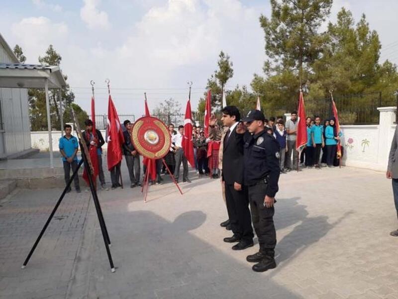 Samsat'ta 29 ekim kutlamaları