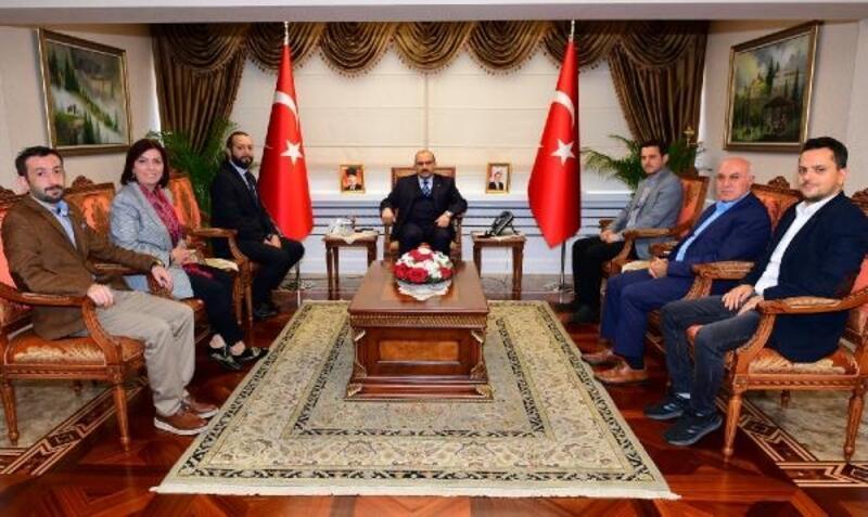 TSYD'den Vali Ustaoğlu'na ziyaret