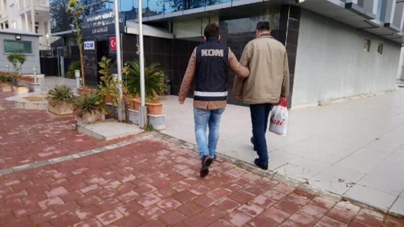 Antalya'da FETÖ/PDY operasyonunda, 10 tutuklama