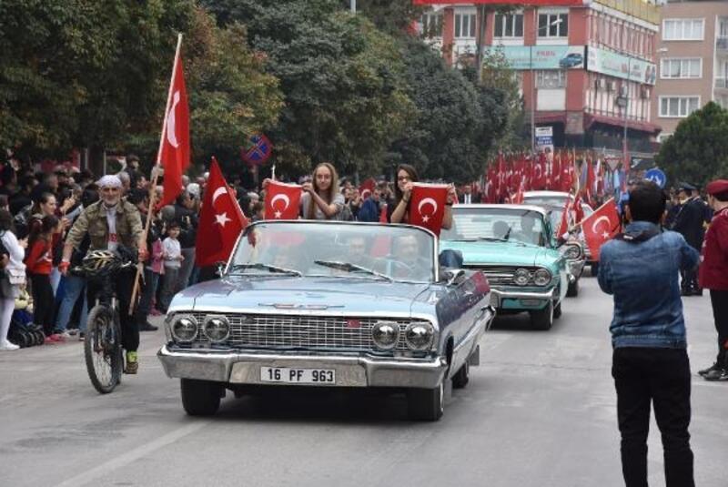 İnegöl'de 29 Ekim Cumhuriyet Bayramı, coşkuyla kutlandı
