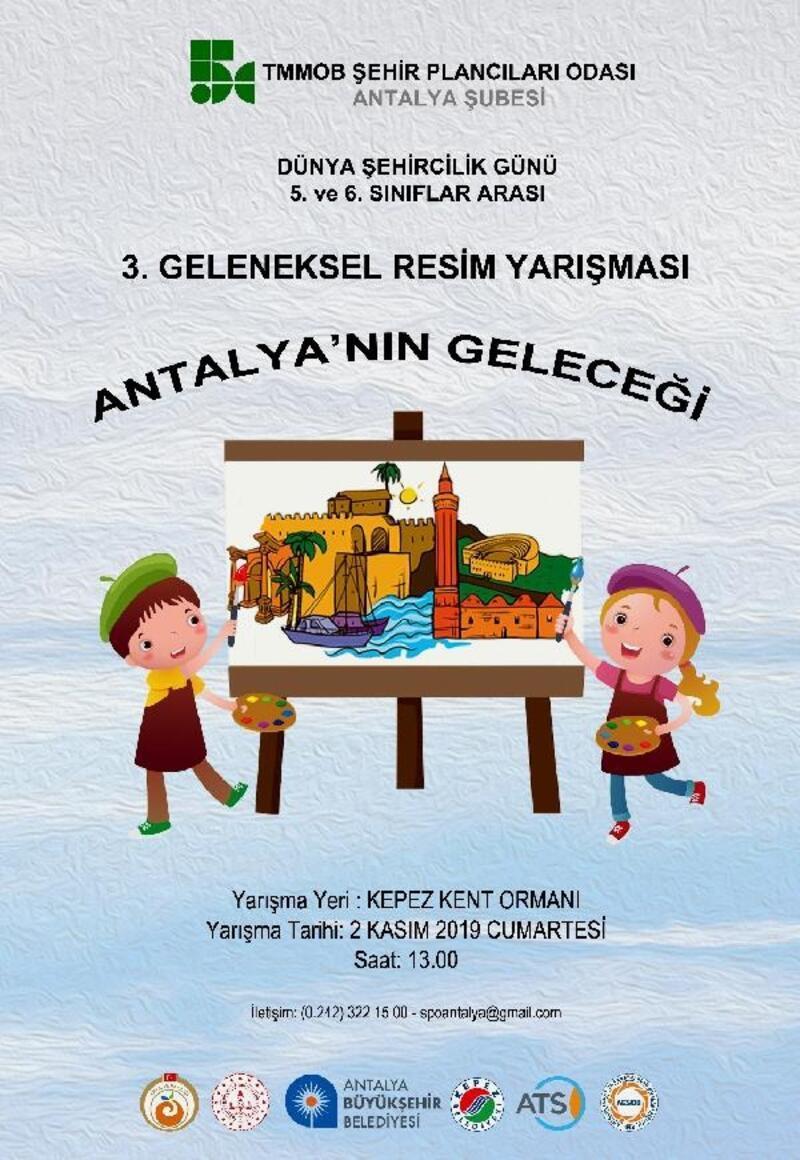Antalya'nın geleceğini resmedecekler