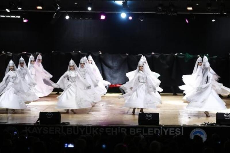 Kayseri'de muhteşem gösteri