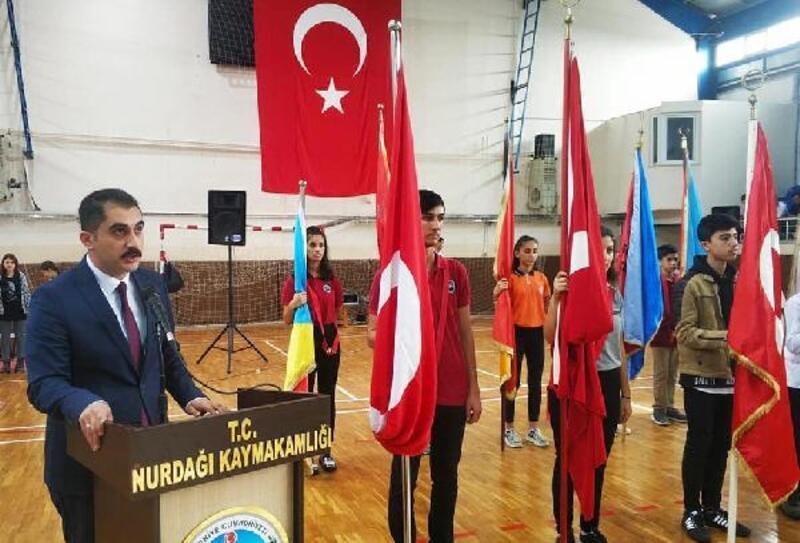 Nurdağı'nda 29 Ekim Cumhuyriyet Bayramı kutlandı