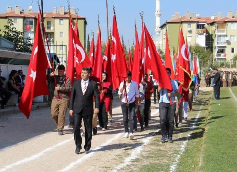 Dinar'da Cumhuriyet coşkusu
