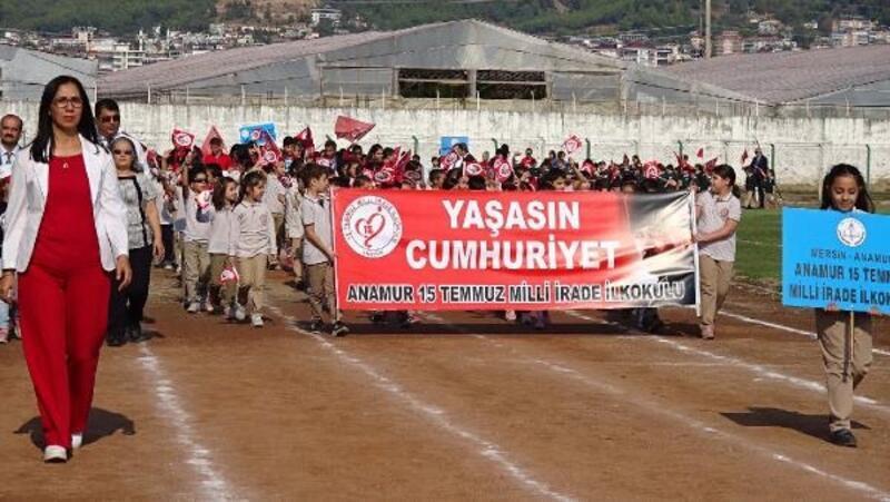 Anamur'da Cumhuriyet Bayramı coşkusu