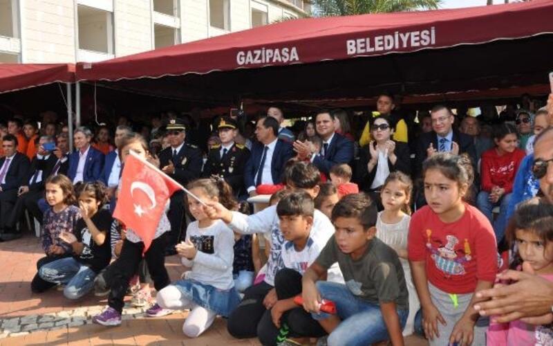 Gazipaşa'da Cumhuriyet Bayramı coşkusu