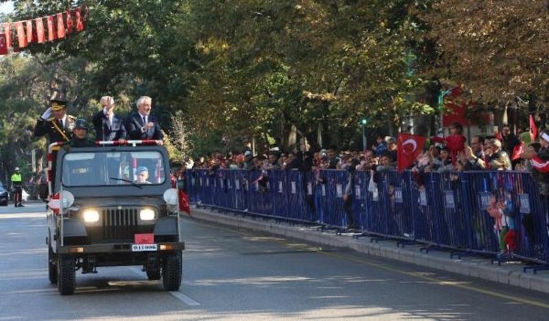 Isparta'da 29 Ekim töreni