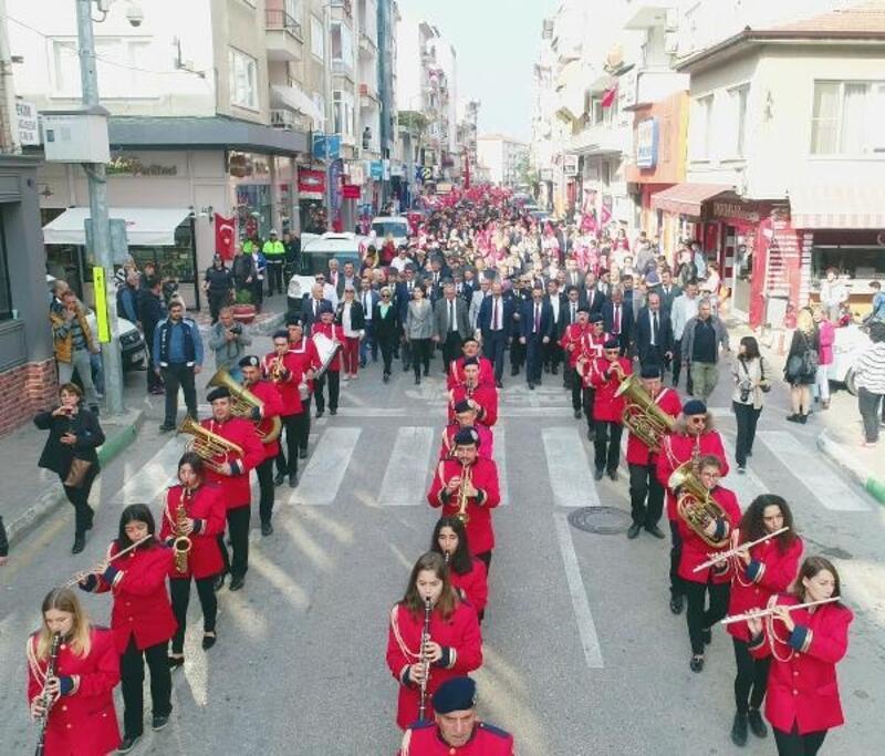 Mudanya'da 29 Ekim Cumhuriyet Bayramı Coşkusu