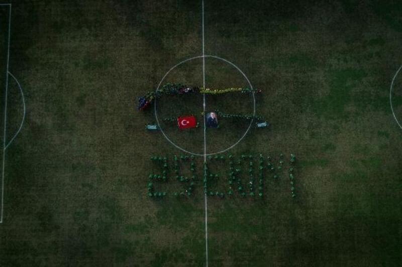 Bursaspor, Cumhuriyet Bayramı'nı altyapı oyuncularıyla kutladı