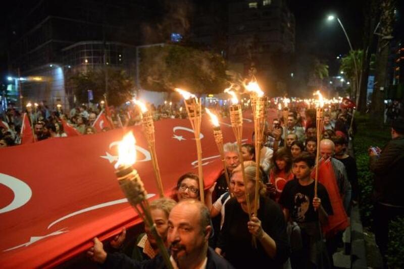 Adana'da 29 Ekim coşkusu