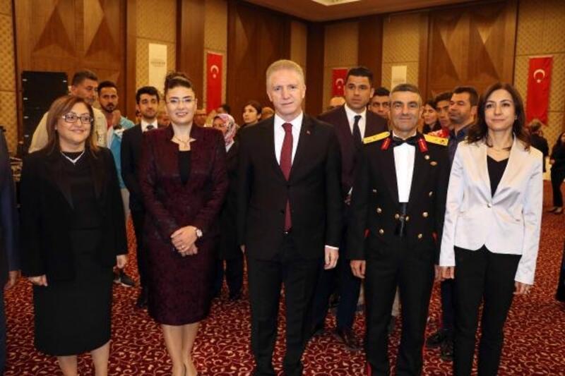 Gaziantep'te 29 Ekim resepsiyonu