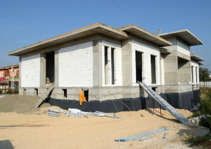 Küçükbalıklı Polis Merkezi'nin inşaatı hızla ilerliyor