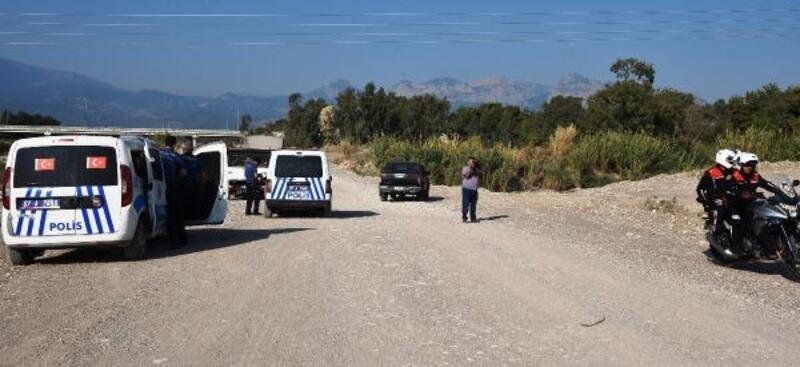 Sazlık alanda kaçak avcı alarmı