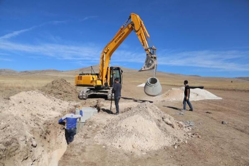 Sivrihisar OSB'de alt yapı çalışmaları devam ediyor