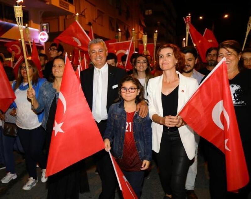 Manavgat'ta Cumhuriyet'e coşkulu kutlama