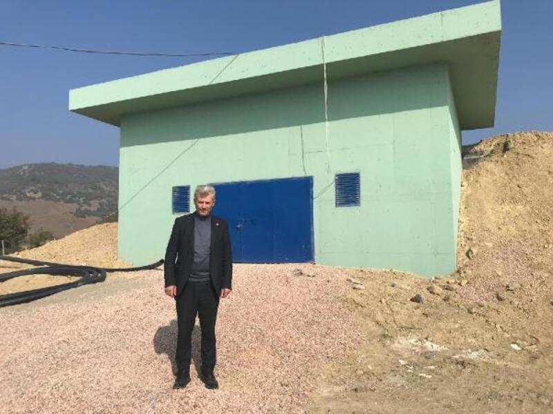 Yenişehir'in 2 mahallesinin su sıkıntısına köklü çözüm