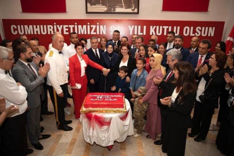 Mersin'de Cumhuriyet Bayramı resepsiyonu