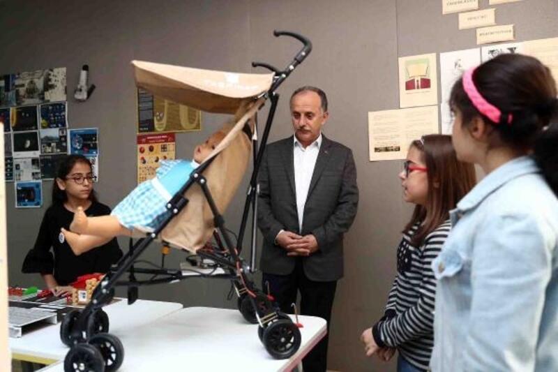 Bebek hırsızlarına karşı sensörlü ve kilitli sistem geliştirildi