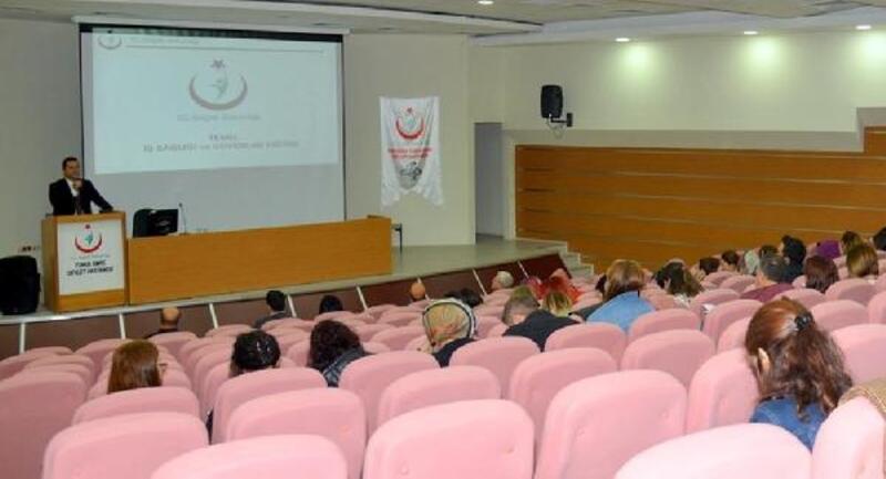 Eskişehir'de, sağlık personeline 'İş Sağlığı ve Güvenliği' eğitimi