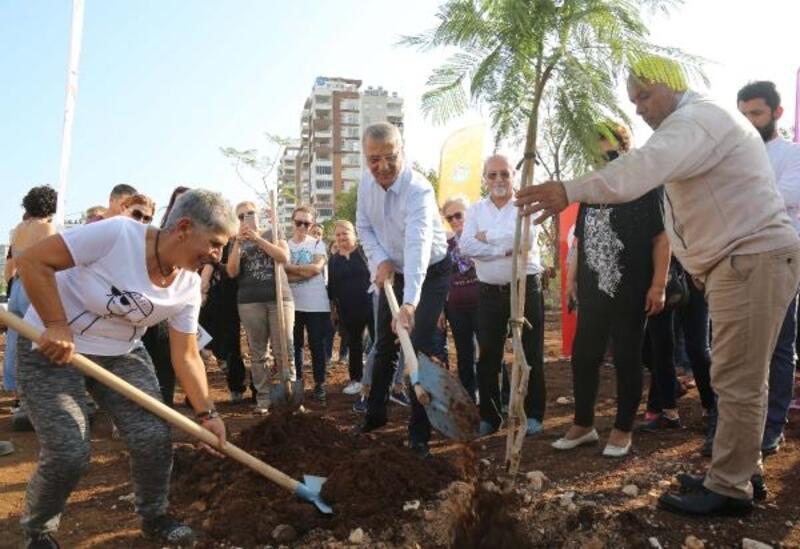 Mezitli'de 51. koruluk açıldı