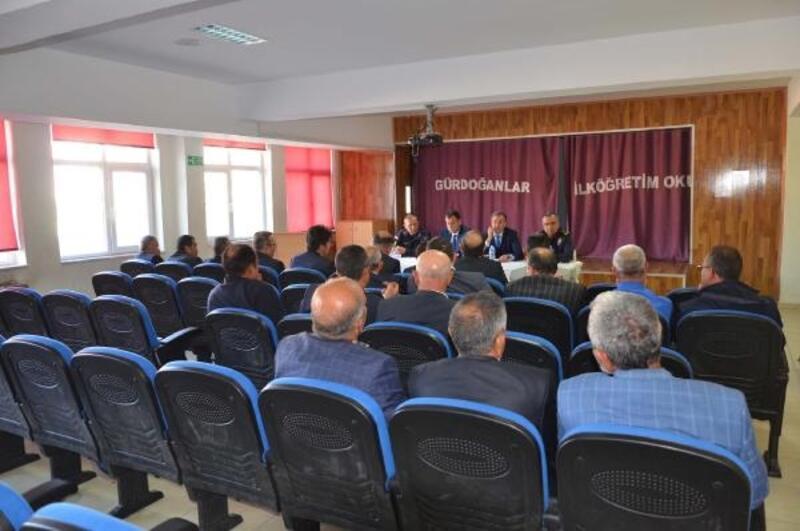 Hacılar'da 'Huzur ve Güvenlik' toplantısı
