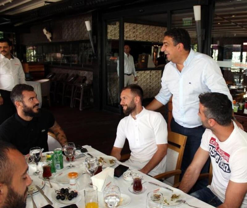 Antalyaspor'a Beşiktaş maçı öncesi moral