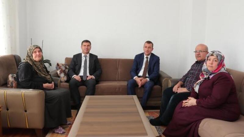 Başkan Ercengiz'den şehit Gök'ün ailesine ziyaret