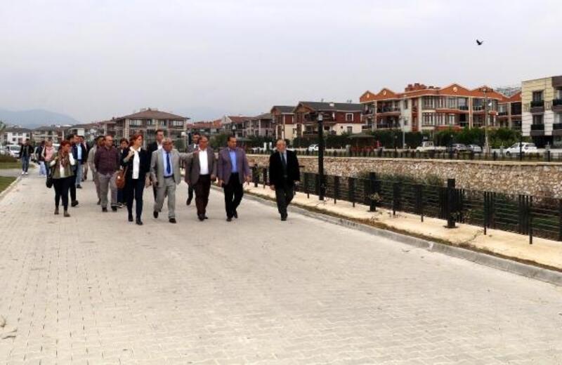 Başkan Salman, Safran Deresi üzerindeki çalışmaları inceledi