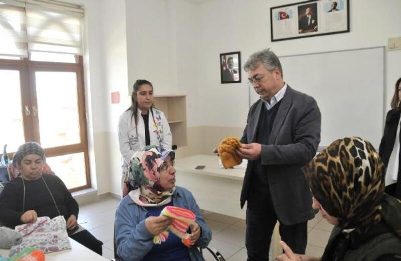 Sağlık çalışanları, Mamak Aile Merkezleri'ni ziyaret etti