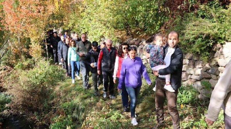 Niğde'de doğal yürüyüş parkuru açıldı