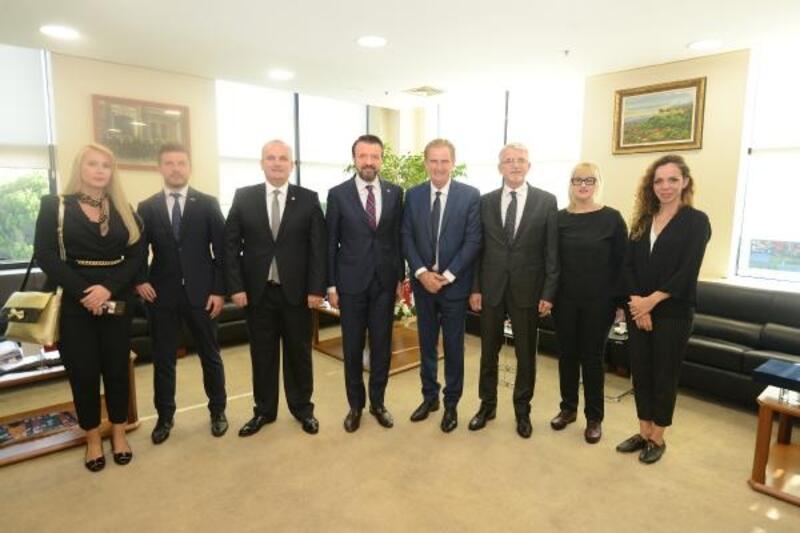 BTSO Başkan Yardımcısı Şener, Bursa'dan Bosna Hersek'e 17 milyon dolar ihracat gerçekleştiriliyor