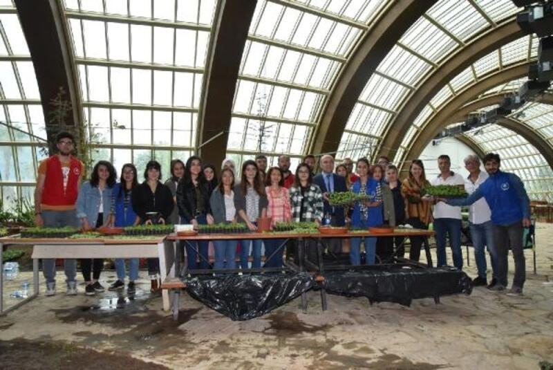 'Çelik gençler', Expo Antalya için çelik aldı