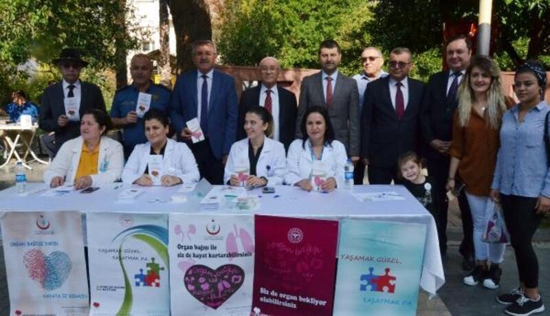 Serik'te organ bağış kampanyası