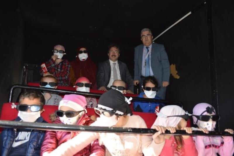 Lösemili çocukların sinema heyecanı