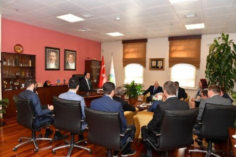 Osmangazi Belediyesi, Kuzey Makedonya Belediye Başkanları'nı ağırladı