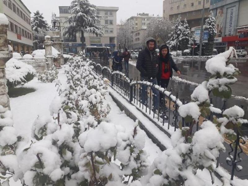 Niğde'de kar yağışı